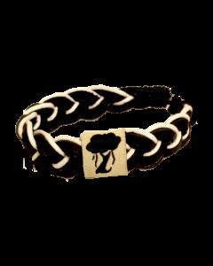 Karma Bracelet : Black / White