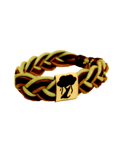 Karama Bracelet : Brown / Green